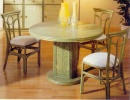 Table Lanoux Ronde Avec 2 Allonges